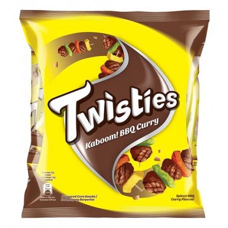 Twisties Corn Snack Multi-pack 8x15g - Kaboom! BBQ Curry