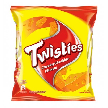 Twisties Corn Snack Multi-pack 8x15g - Big Cheese