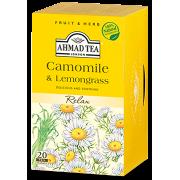 Ahmad Tea Camomile & Lemongrass Infusion Teabags 20s