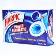 Harpic Power Bluematic In-cistern Toilet Bowl Clearner 6 X 50g
