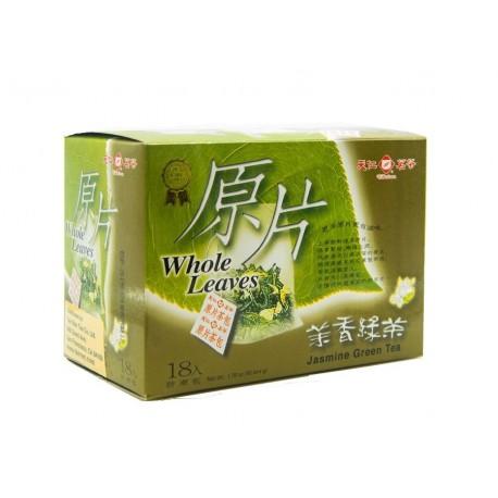 Ten Ren Jasmine Green Tea Whole Leaf 3gx18s Teabags