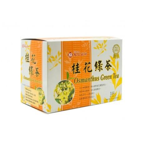 Ten Ren Osmanthus Green Tea 3gx18s Teabags