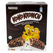 Nestle Koko Krunch Chocolate Cereal Bar 6x25g