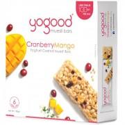 Yogood Muesli Bars 6x23g - CranberryMango