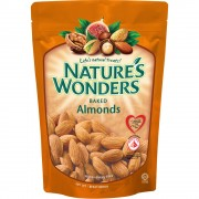 Nature's Wonders 150g - Baked Almonds