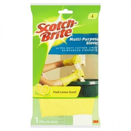 3M Scotch-Brite Multipurpose Glove Size-L