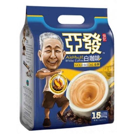 Ah Huat White Coffee 15 x38g - Gold Medal