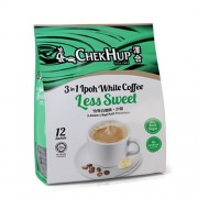 CHEKHUP 3in1 Ipoh White Coffee - Less Sweet 35g x 12