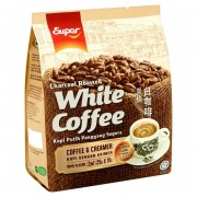 SUPER Charcoal Roasted 2in1 White Coffee 25gx15s