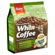 SUPER Charcoal Roasted 3n1 White Coffee 36gx15s - Hazelnut