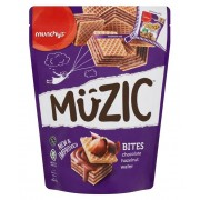 Munchy's Muzic Bites Chocolate Hazelnut Wafer 180g