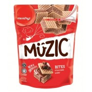 Munchy's Muzic Bites Chocolate Wafer 180g