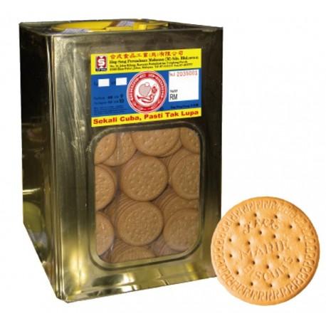 Hup Seng Big Marie Biscuits 3.5Kg (Bulk Tin)