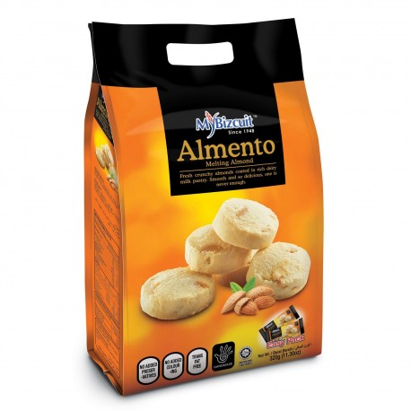 MyBizcuit Almento Melting Almond Cookies 320g