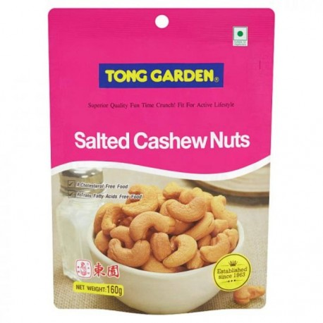 Tong Garden Salted Cashew Nuts 160g