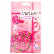 Farcent Scented Bag 3Bags - Rose