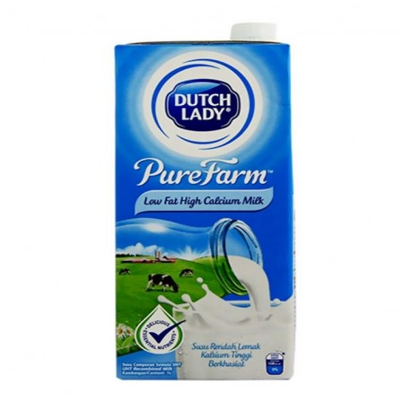 Dutch Lady UHT Low Fat Milk 1L