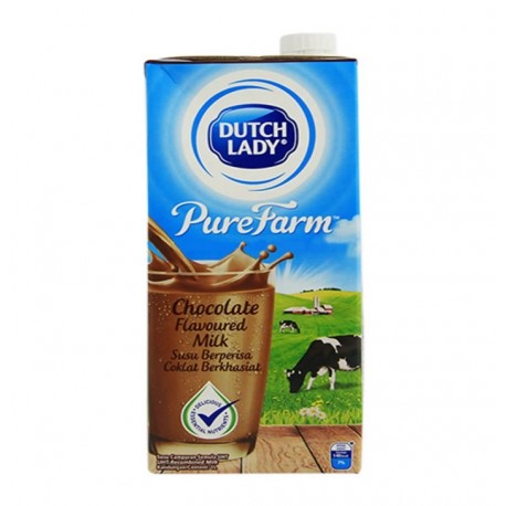 Dutch Lady UHT Chocolate Flavoured Milk 1L