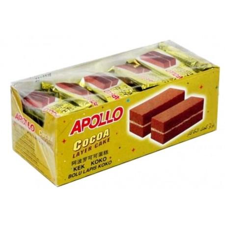 Apollo Layer Cake 18g x24s - Cocoa