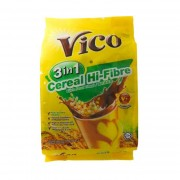 Vico 3in1 Chocolate Malt Drink 32gx15's - Cereal Hi-Fibre