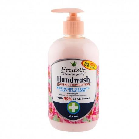 Fruiser Moisturising Handwash 500ml - Aloe Vera