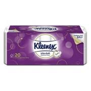 Kleenex 3ply Toilet Tissue Ultrasoft 20s