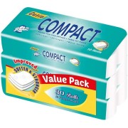 Cutie Compact 3ply Toilet Tissue Rolls 3x10s