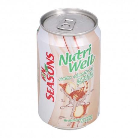 F&N Seasons NutriWell Water Chestnut 300ml x 24