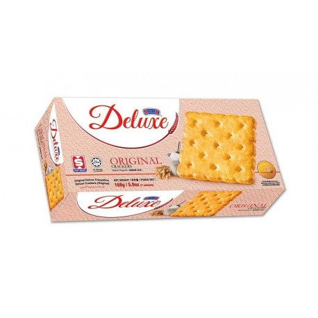 Kerk Deluxe Crackers Original 168g (7 sachets) pack
