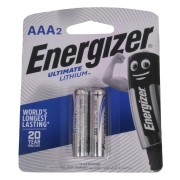 Energizer Ultimate Lithium AAA 1.5V Battery 2pcs Pack