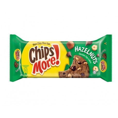 Chips More Chocolate Chips Cookies 163.2g - Hazelnuts