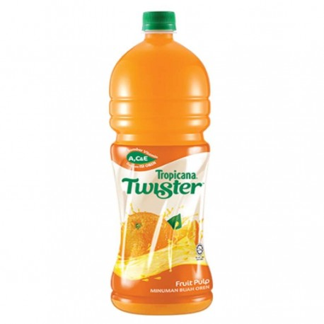 Tropicana Twister Fruit Drink 1.5L - Orange with Pulp