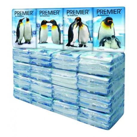 PREMIER 2Ply Pocket Tissue 5x12x11s