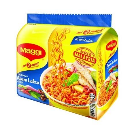 Maggi 2-minute Noodles Asam Laksa 5 x 78g