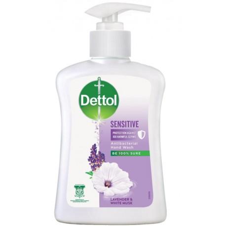 Dettol Antibacterial Hand Soap 250ml - Sensitive