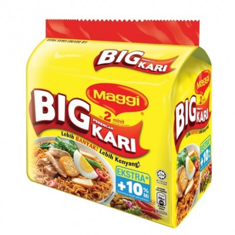 Maggi 2-minute Noodles Big Curry 5x111g