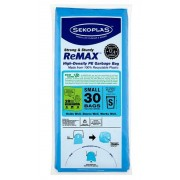 Sekoplas ReMax HDPE Garbage Bag 30's - Small