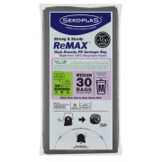 Sekoplas ReMax HDPE Garbage Bag 30's - Medium