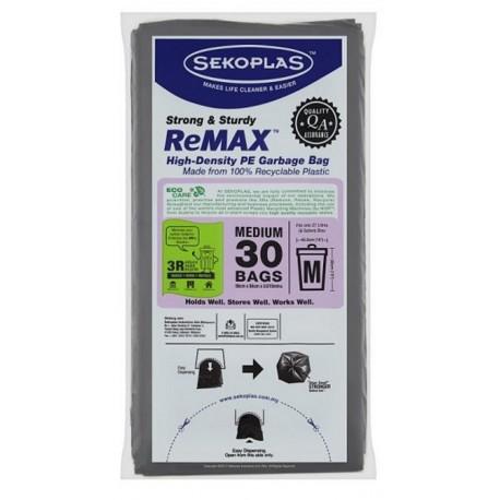Sekoplas ReMax HDPE Garbage Bag 30's - Medium