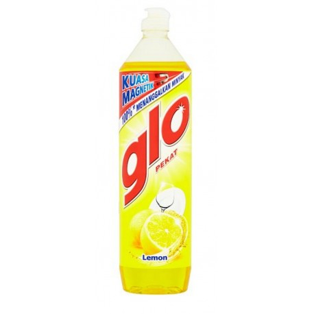 GLO Concentrated Dish Washing Liquid 900ml - Lemon