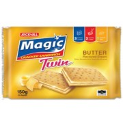 Jack 'n Jill Magic Cracker Sandwich - Butter 150g
