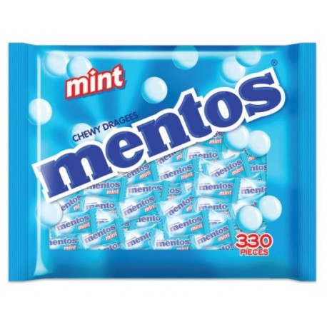 Mentos Pillow Pack Candy 330's - Mint
