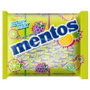 Mentos Chewy Dragees Pillow Pack 330's - Sour Mix