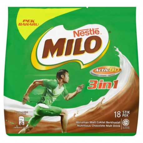 Nestle Milo 3in1 18x33g Stick Pouch