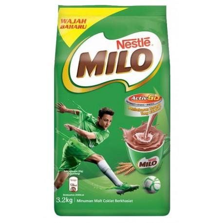 Milo Chocolate Malt Drink Activ-Go 3.2Kg