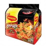 Maggi Letup Fire Chili Curry Instant Noodle 5x55g
