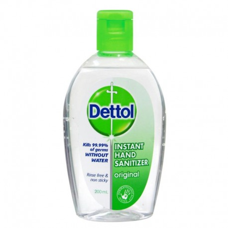 Dettol Original Instant Hand Sanitizer 200ml
