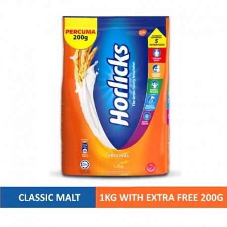 Horlicks Malted Drink 1Kg Softpack