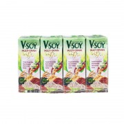V-Soy Soya Bean Milk 200ml x4 - Multi-grain