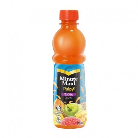 Minute Maid Pulpy Tropical Mixed Fruit Drink 350ml